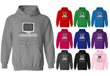 Womens Have You Tried Turning It Off and On Again IT Crowd Geek Hoodie UK 12-20