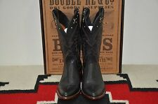 Ralph Lauren RRL Made in USA Cowboy Western Stone & Stud Leather Boots
