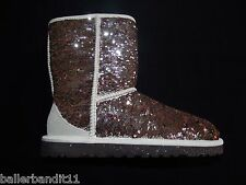 Womens Ugg W Classic Short Sparkles  boots new 3353 CHMP