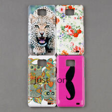 Cute Lovely Patterns Case Cover Back Protector for Samsung Galaxy S ii Hard PC