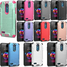 Boost Mobile ZTE Warp Sync N9515 Rubberized HARD Case Phone Cover + Screen Guard