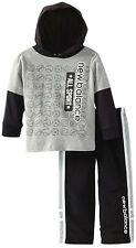 New Balance Toddler Boys 2 Piece Hooded T-shirt Track Pants Athletic Set