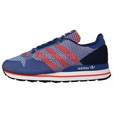 Adidas Originals ZX 500 OG Weave Blue Orange 2014 Mens Running Casual Shoes