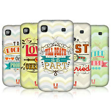 HEAD CASE WEDDING VOWS PROTECTIVE COVER FOR SAMSUNG GALAXY S I9000