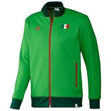 Adidas Mens Mexico FMF Flag World Cup Soccer Track Top Jacket Green Red G77807