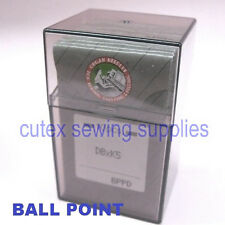 100 Titanium Ball Point  DBXK5 DB-K5 Commercial Embroidery Machine Needles