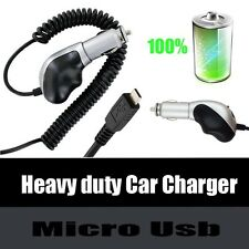 Heavy Duty Premium Plug in Auto Car Charger for Samsung Cell Phones New!!