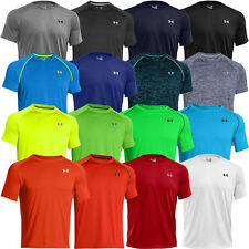 Under Armour 2014 Mens UA Tech Short Sleeve T Shirt HeatGear Training Tee
