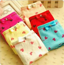 new Wholesale lots 6 PCS Women's underwear Cute Bow Mix color cotton Panties