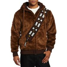 Star Wars Chewie Chewbacca Fur Casual Jacket Cosplay Costume Hoodie Shirt Outfit