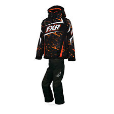 2015 Youth FXR Winter Snowmobile Orange Helix Jacket & Helix Pants Size 4-14