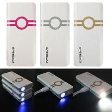 12000mAh LED Power Bank Carica Batteria Esterna USB Per iPhone 6 SAMSUNG LG HTC