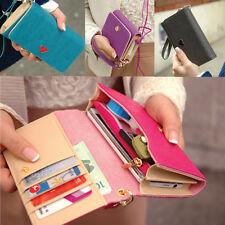 Women Wallet Purse Phone Case Cover Card Bag For Samsung Galaxy S2 S3 S4 Sale