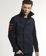 New Mens Superdry Super Liberty Peacoat Navy