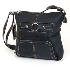 Women's Purse Cross Body Shoulder Bag Leather Handbag Organizer Messenger Tote