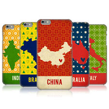 HEAD CASE PRINTED COUNTRY MAPS PROTECTIVE COVER FOR APPLE iPHONE 6 PLUS 5.5