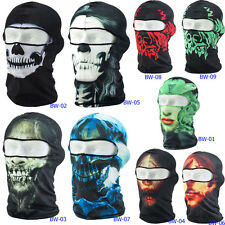 Ghost 3D Thin Outdoor Cycling Bicycle Balaclava CS Full Face Mask Hat Motorcycle