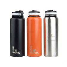 1L BPA Free Stainless Steel Insulated Vacuum Water Bottle Thermos Flask Sports