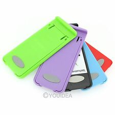 Candy Color Portable Folding Case Holder Stander For iPhone Cell Phone Tablet