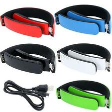Folding Bluetooth V4.0 Wireless Stereo Headphones For Cell Phone Laptop Tablet