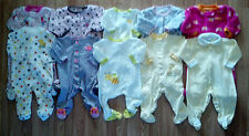 Lots Girl's Size 9 M 6-9 Months One Piece Footed Pajama Sleeper By Carter's ETC
