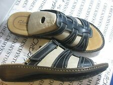 NIB Clarks The Bevin Anna Clarks® Artisan COLLECTION LEATHER COMFORT SANDALS