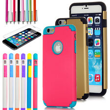 """For Apple 4.7"""" iPhone 6 TPU Rubber Gel Ultra Thin Protective Hard Case Cover"""