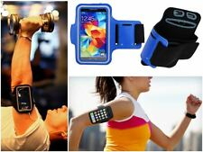 Slim Blue Sports Gym Running Armband Pouch Cover Case For Apple iPhone Accessory