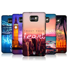 HEAD CASE WORDS TO LIVE BY SERIES 4 COVER FOR SAMSUNG GALAXY S2 II I9100