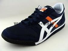 Asics Onitsuka Tiger Ultimate 81 dark navy blue white orange men vegan shoes NIB