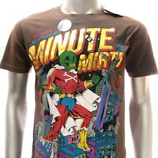 m291 Minute Mirth T-shirt Sz M L Tattoo Skull Super Hero Space Stars War Funny