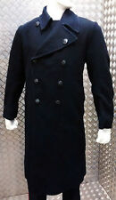 Genuine British Royal Navy Vintage Full Length Greatcoat/Overcoat Goth All Sizes