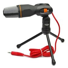 3.5mm Jack Audio Microphone Mic For Chating QQ MSN SKYPE Singing Voice Recording