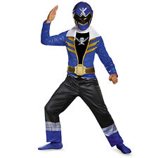 Super Megaforce Power Rangers Classic Blue Ranger Child Costume