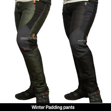 Men's Winter cargo pants fishing lined thermal work trousers Padding Pants