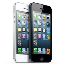 Factory Unlocked Apple iPhone 5 64 GB Black and White Smartphone