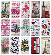 Trendy Wallet Card Holder Stand PU Leather Case Cover For Various Mobile Phones