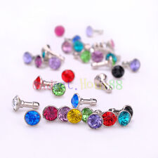 """Diamond 3.5MM Anti Dust Plug Cap Stopper Cover for PC Tablet 9.7"""" 10"""" 10.1"""" 4th"""