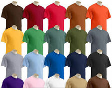 Big 3XL 4XL 5XL Short Sleeve T-Shirt Gildan Tee Big Men's Ultra Cotton 50 COLORS