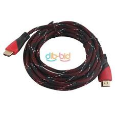 High Speed 3ft-16ft HDMI V1.4 Cable Cord Full HD 1080P Nylon for HDTV XBOX PS3