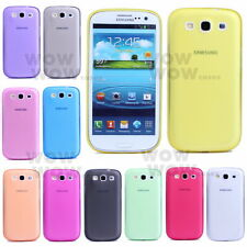 1 Pcs Ultra-thin 0.5mm Transparent Matte Case Cover For Samsung Galaxy S3 i9300