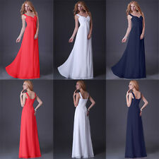 XMAS CHEAP Long Chiffon Prom Bridesmaid Mother of the Bride Evening Party Dress