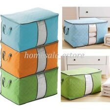 New Non-woven Portable Folding Pouch Holder Blanket Quilt Pillow Storage Box Bag