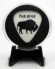 Pick Buffalo Guitar Pick With MADE IN USA Display Case & Easel