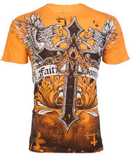 Archaic AFFLICTION Mens T-Shirt WINGED CREATURE Tattoo Biker MMA UFC M-XXL $40 b