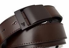 Men Belt Gianni Versace Collection Mens Nwt Real Leather 100% 120 authentic BR52