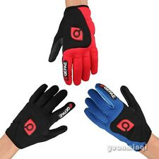 MTB Winter Men Women Riding Racing Bike Cycling Full Finger Shockproof Gloves