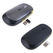 2.4GHz USB Wireless Optical Mouse Mice for Mac Macbook Pro Air PC NEW! 18ZC