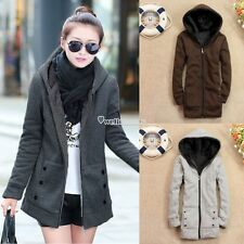 Winter Fashion Thicken Coat Hoodie Parka Women Warm Overcoat Jacket Coat Outwear