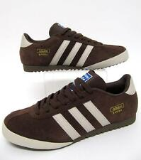 Adidas Originals - Mens Bamba Trainers in Brown Cream & Gold / 7,8,9,10,11,12